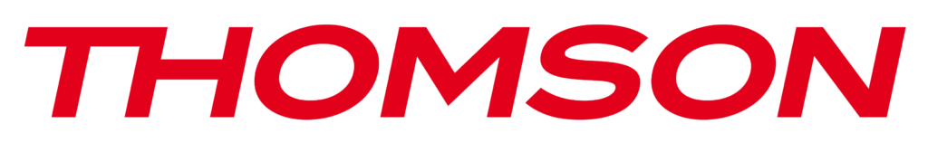 logo thomson rouge sur blanc